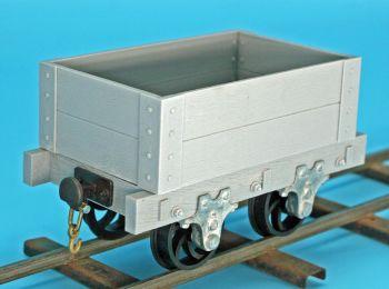 MCQR-05 Quarry Style 2 Plank Wagon