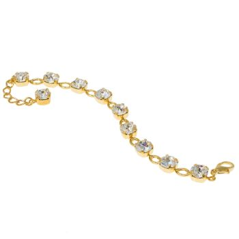 Open Link Tennis Bracelet