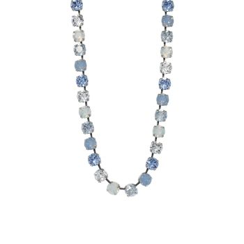 Shades of Blue and Opal Choker