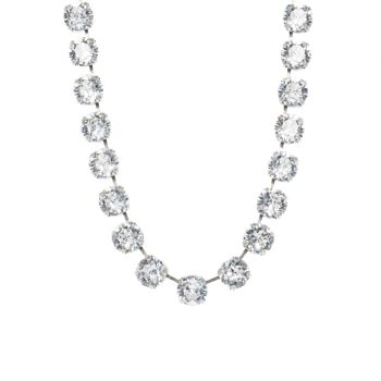 Large Crystal Diamond Choker