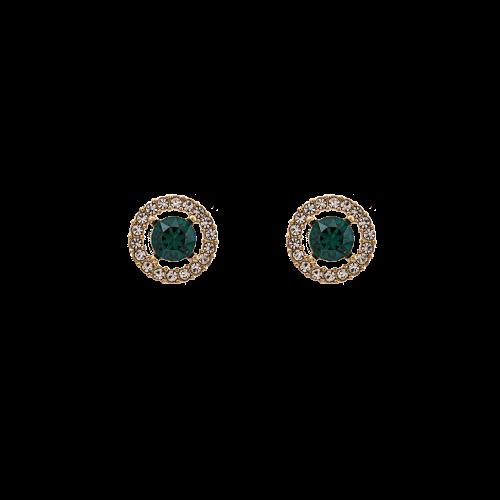 Miss Miranda Earrings - Emerald