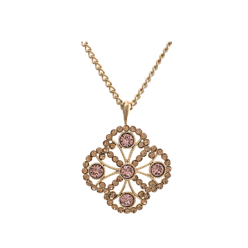 Miss Lola Necklace - Golden Shadow