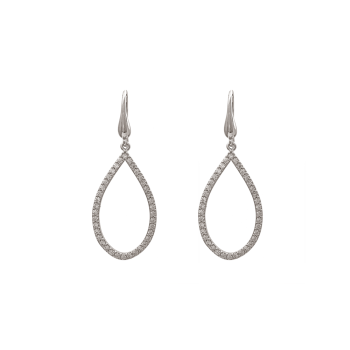 Kennedy Earrings - Crystal