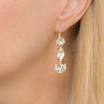 Crystal Fancy Drop Earrings