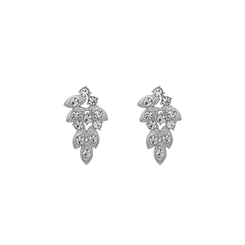 Lulu Earrings - Crystal