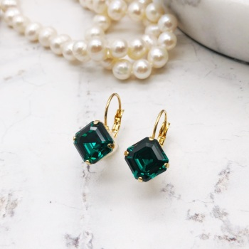 Emerald Imperial Earrings