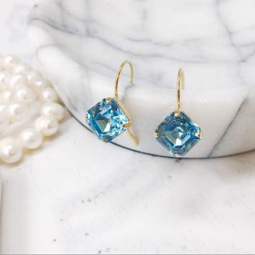 Aquamarine Imperial Earrings
