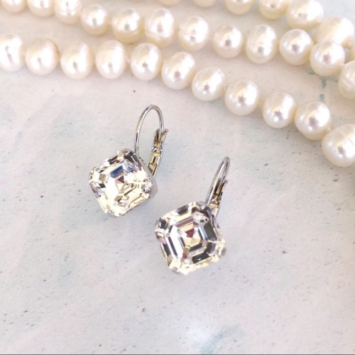 Diamond Crystal Imperial Earrings