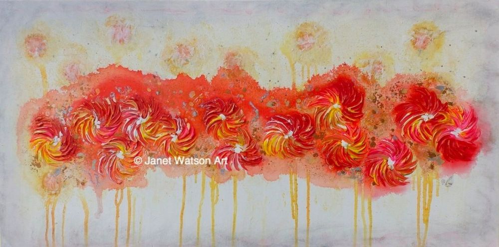 © JanetWatsonArt Spinning Flowers Collection. copy-1