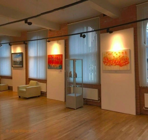 ©JanetWatsonArt at The Atkins Building Hinlkey My two large artworks-1