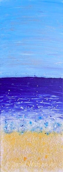 Spray Sands - Seaside Collection by Janet Watson Art