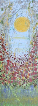 Spring in your Step - Contemporary Poppy Meadow Collection