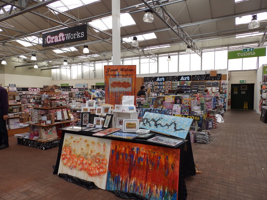(c) Janet Watson Art The Works Woodlands Garden Centre 30 Sept 18 copy