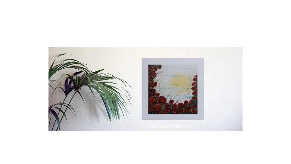 Poppy 100 Years 1918 2018 (c) Janet Watson Art-1
