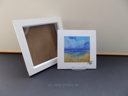 Free Frame * Holiday Dreaming - Seaside Collection 15 x 15 cm Print Only by