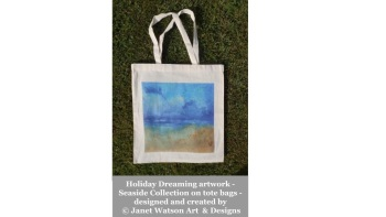 Holiday Dreaming Tote Bag