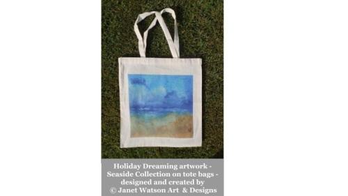Holiday Dreaming Tote Bag