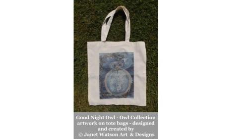 Good Night Owl Tote Bag