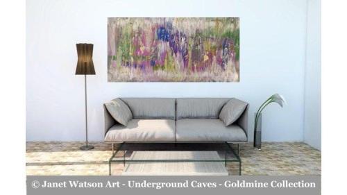 Amethyst Jade – Underground Caves – Goldmine designed and created by (c) Ja