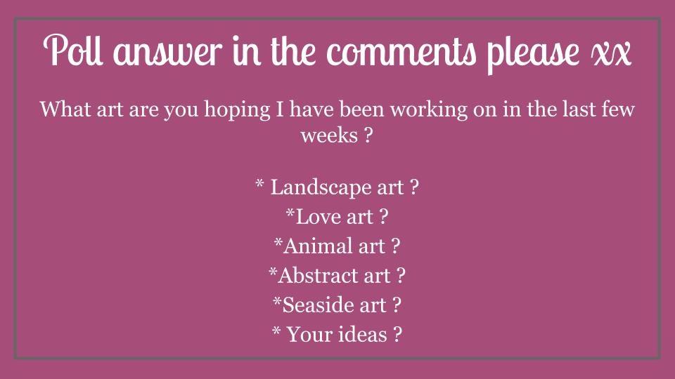 First poll (c) Janet watson Art