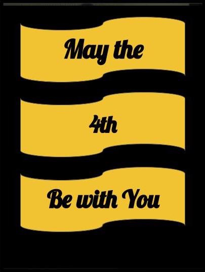 May the 4th be with you (c) Janet Watson Art