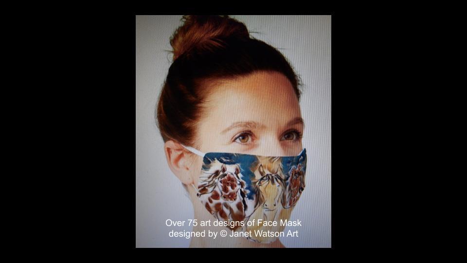 Web facemask 1 (c) janetwatsonart