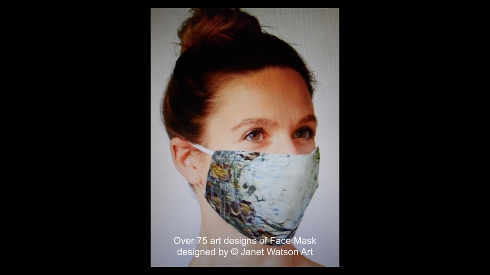 Web facemask 3 (c) janetwatsonart