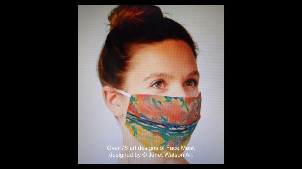 Web facemask 7 (c) janetwatsonart