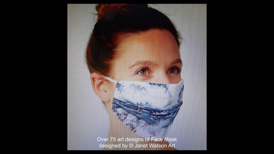 Web facemask 8 (c) janetwatsonart
