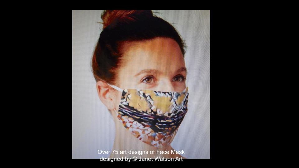Web facemask 9 (c) janetwatsonart