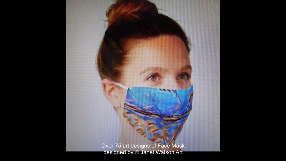 Web facemask 10 (c) janetwatsonart