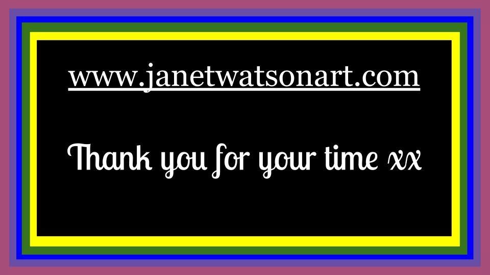 Logo fb page (c) Janetwatsonart