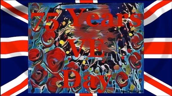 75 Years VE Day (c) Janet Watson Art-1 copy