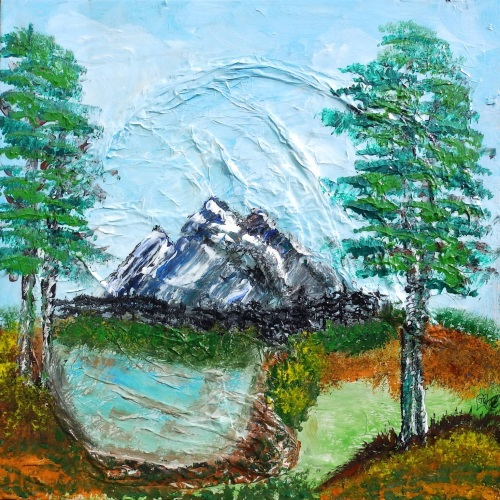 Pine View  by Janet Watson Art