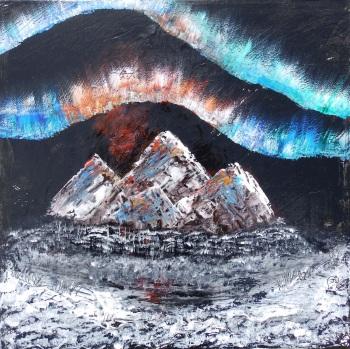 Northern Rocks by Janet Watson Art