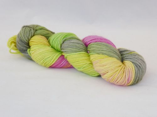 Beautiful Ones on Merino Silk Stellina DK