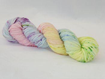 Rainbow Speckles on Super Merino Crazy 8 DK