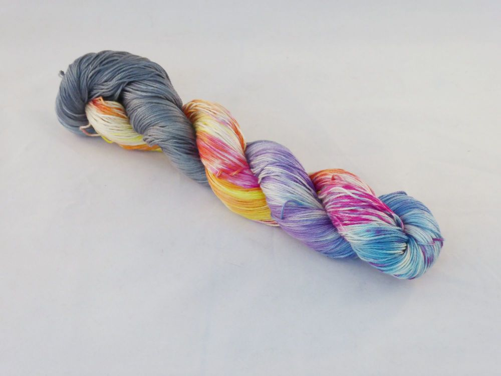 Morning Glory on Pima Cotton 4ply