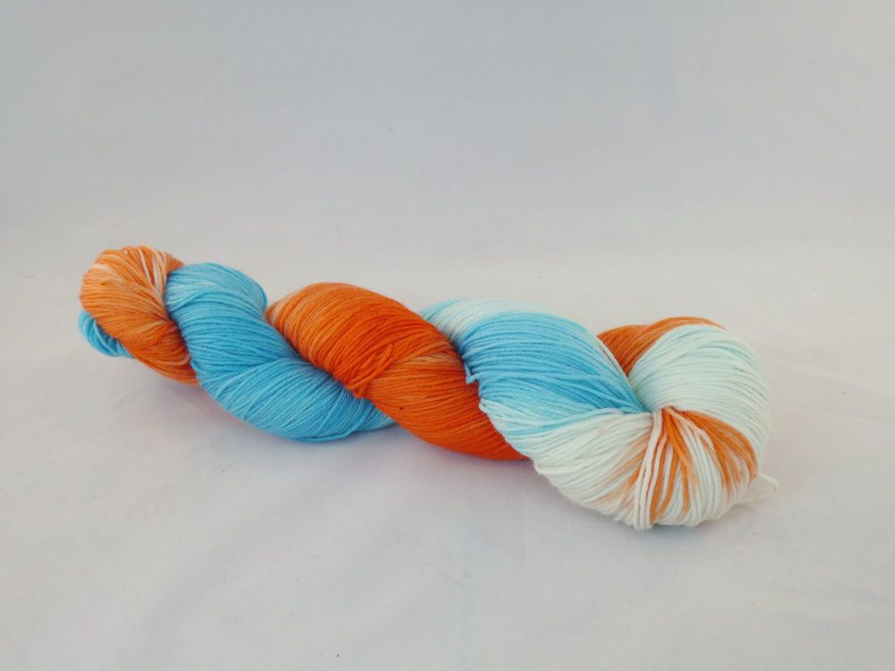 Sporty Spice on Merino Nylon Sock