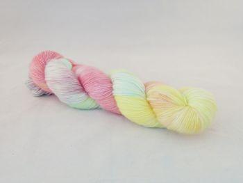 Sherbert Pips  on Mohair Merino Nylon Sock