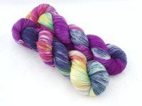Squishee on Tianium Merino / Nylon sock