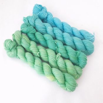 Super Merino / Nylon Sock - Shore breeze - 5 x 20g