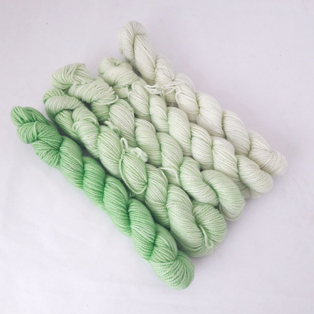 Super Merino / Nylon SPARKLE - Apple Harvest - 5 x 20g
