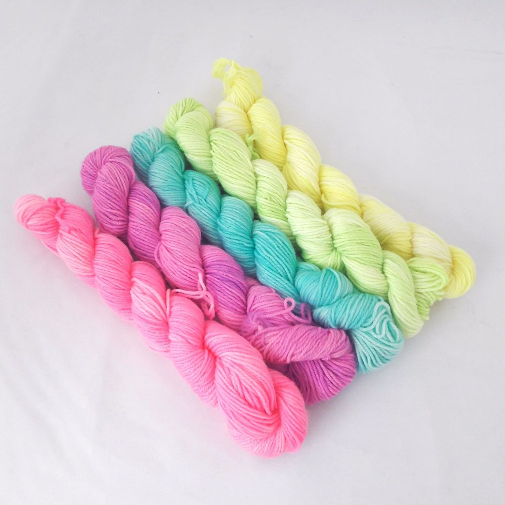 Merino / Nylon Sock - Mave the Rave - 5 x 20g
