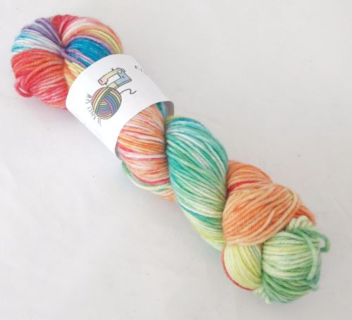 Rainbows on Merino / Nylon / Sparkle DK