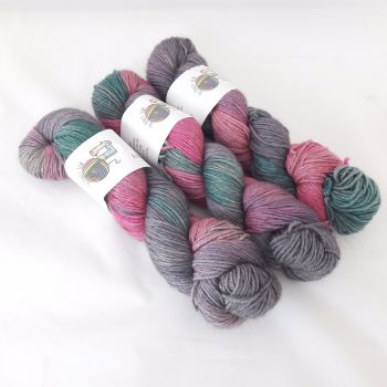 Twisted Sister on Merino / Silk / Yak DK