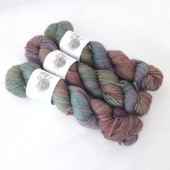 Rusty Nail on Merino / Silk / Yak DK