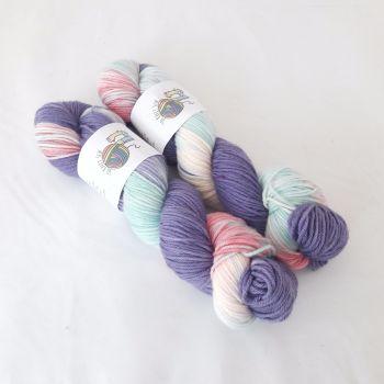 Jellyfish on Merino / Nylon DK
