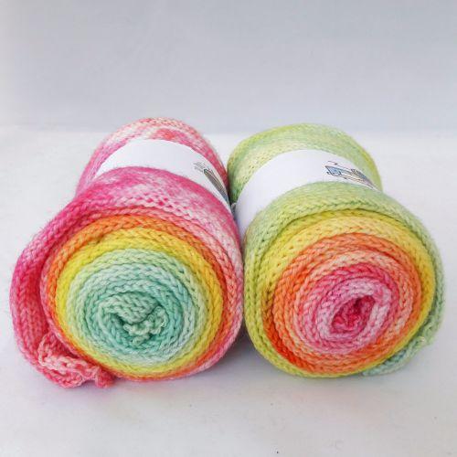Brights on Merino Nylon sock