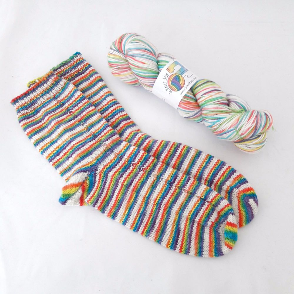 Chasing Rainbows Self Striping Sock Yarn